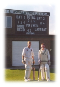 James Bryant and Craig Fergusson break batting partnership record