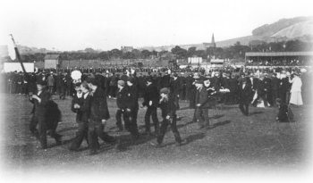 Play Off Final against Haslingden at Accrington in 1900