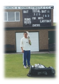 Mark Higgs breaks club batting record