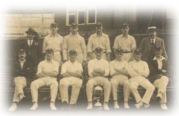 1921 team with professional, J T Newstead