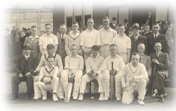 1936 team with profesional, L S Brown