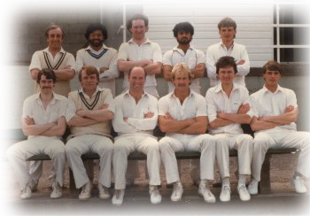 1983 team with professional, Brendan McArdle