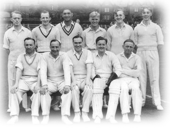 1953 team with P R Umrigar